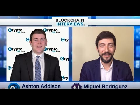 Blockchain Interviews - CEO of Urbitdata.io Miguel Rodriguez