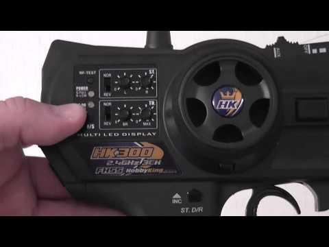HK 300 3 Channel 2 4ghz FHSS Ground Radio