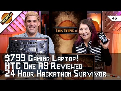 Dell's $799 Gaming Laptop, HTC One A9 Review, Hackathon How-To, Clean A Projector Screen, Gig City!