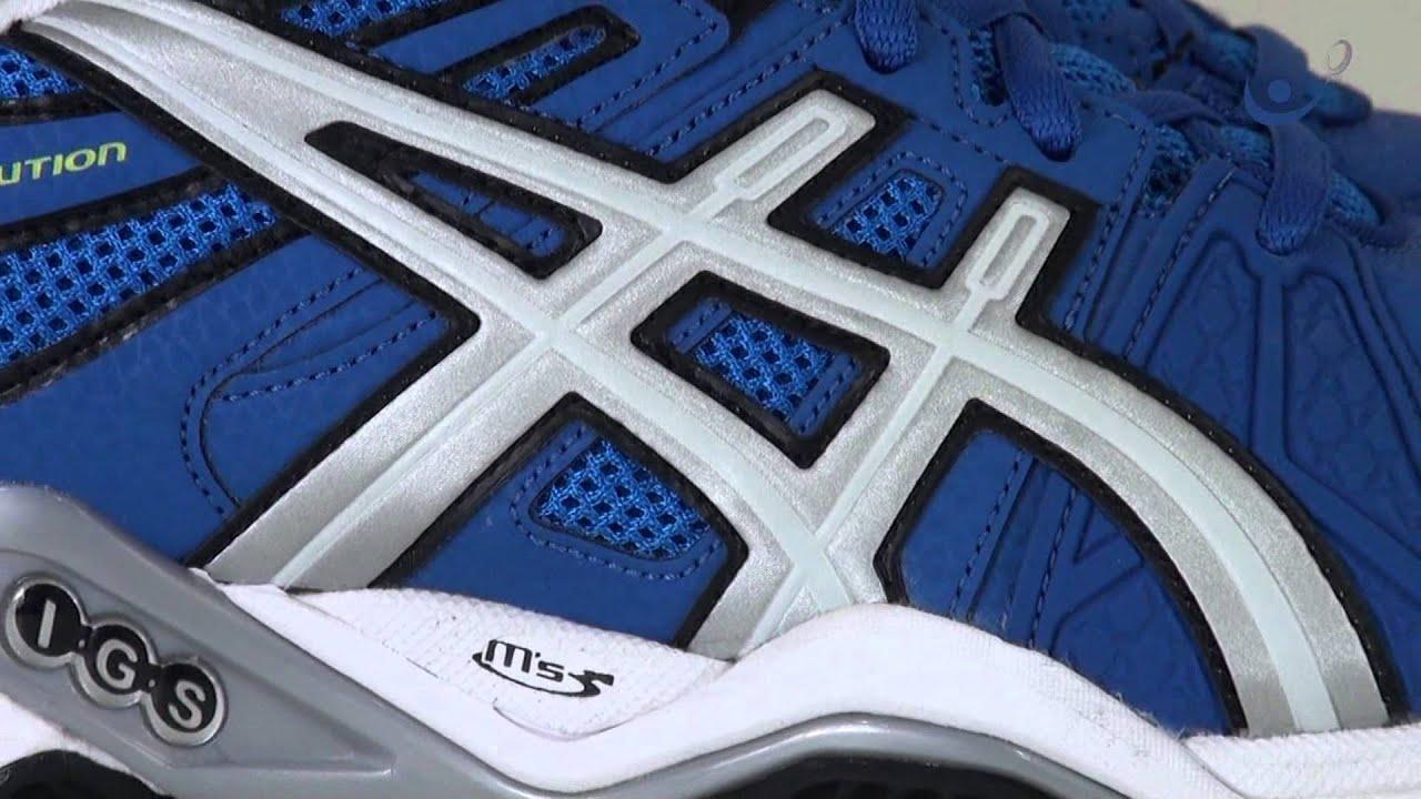 tenis asics gel resolution 5 azul