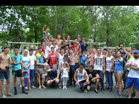 A trip to Khabarovsk on the street workout competitions