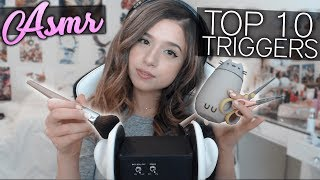 TOP 10 ASMR TRIGGERS ON A 3DIO!!