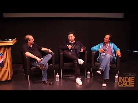 IndieCade Festival 2017: Fireside Chat with Jenova Chen and Vincent Diamante