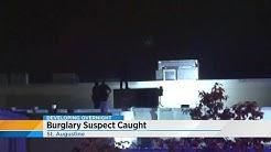 Burglar goes through roof of St. Augustine pawn shop