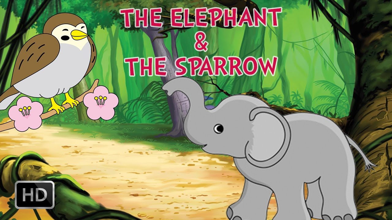 Panchatantra Tales - The Elephant & The Sparrow - Elephant Stories ...