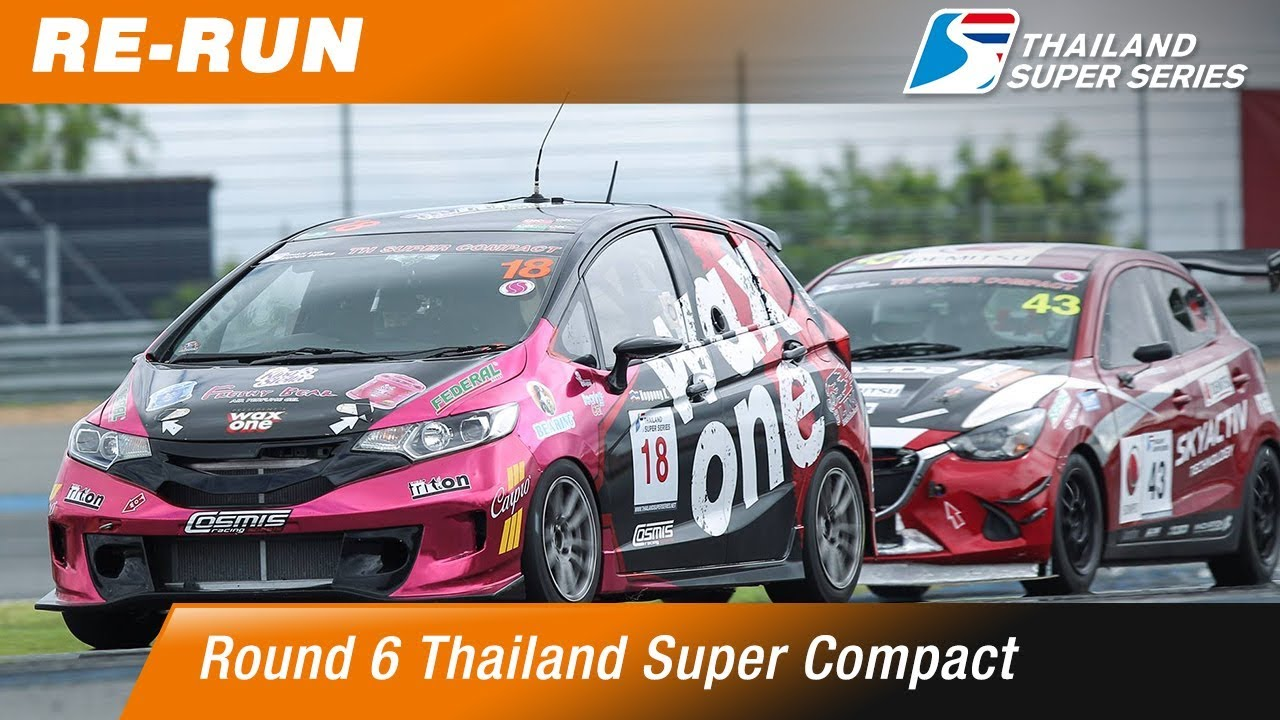 Thailand Super Compact : Round 6 @Chang International Circuit