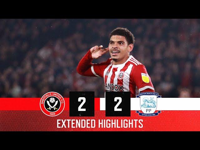 Sheffield United 2-2 Preston North End | Extended EFL Championship highlights