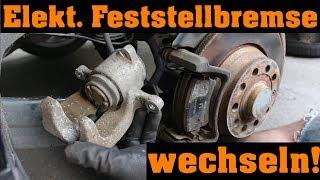 Elektr. Feststellbremse wechseln | VW Passat 3C