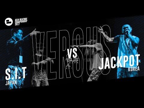 S.I.T (JPN) vs JackPot (KR) Asia Beatbox Championship 2017 Top 8 Tag Team Beatbox Battle