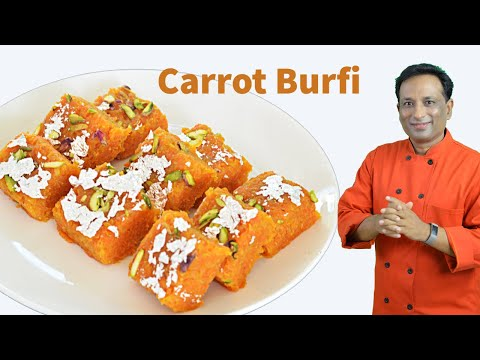 Carrot Burfi Indian Sweet Recipe