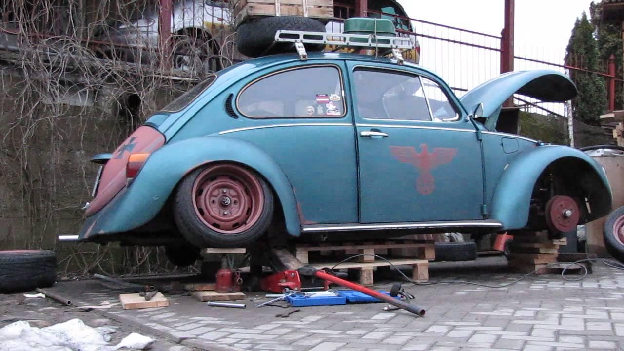 air ride vw bug youtube