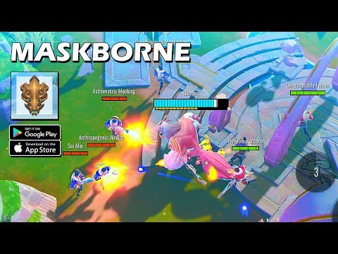 MASKBORNE - Battleground Shooter Multiplayer Gameplay (Android/IOS)