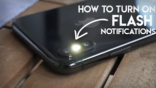 How to Make Your iPhone Flash When You Get a Text / When Ringing screenshot 3