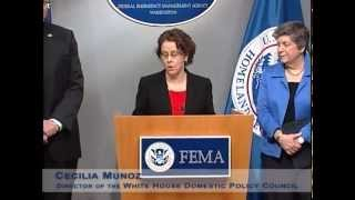 FEMA Corps - Press Conference March 13, 2012