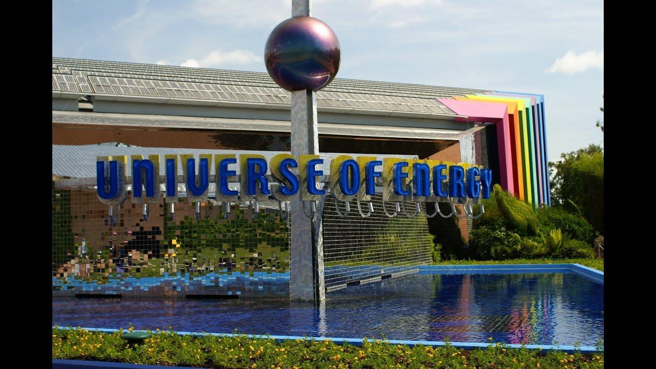 360º Ride on Ellen's Energy Adventure (Universe of Energy)