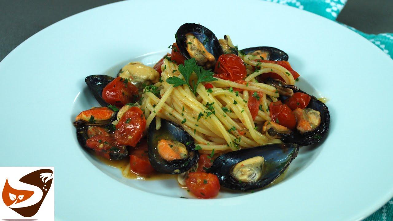 Spaghetti Con Le Cozze Ricetta Velocissima E Buonissima Primi Di