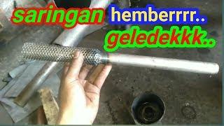 Gambar cover HEMBER GELEDEKK...   Ganti saringan knalpot mio m3
