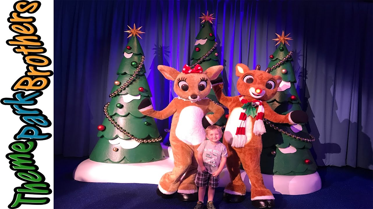 christmas town 2016 busch gardens tampa with rudolph meet and greet youtube. Black Bedroom Furniture Sets. Home Design Ideas