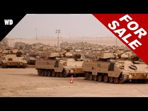 Britain's Military Surplus For Sale