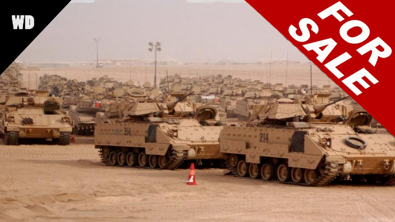 Military Surplus Auction >> Britain's Military Surplus For Sale - YouTube