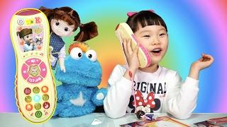 콩순이 리모컨 라임이의 핸드폰게임 장난감 소꿉놀이 콩순이율동동요 LimeTube & Toy 라임튜브