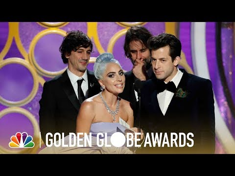 """Shallow"" Wins Best Original Song - 2019 Golden Globes (Highlight)"