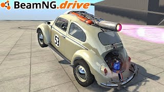 BeamNG.drive - ROCKET HERBIE CAR