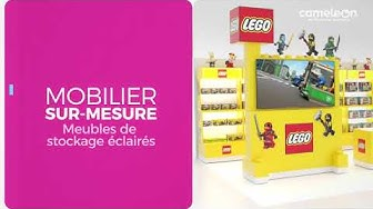 LEGO stratégie Marketing Point de Vente et PLV phygitales