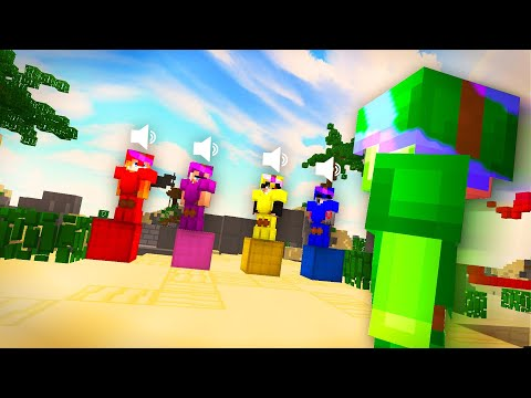 BEDWARS con CHAT de PROXIMIDAD *MUY GRACIOSO* | ft. YouTubers