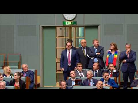 Australian Parliament Passes Marriage Equality with Incredible Reaction