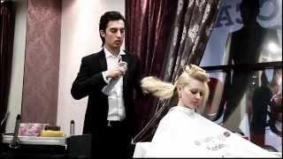 Прическа для невест от Фарруха Шамуратова(Свадебная прическа от Фаррух Шамуратов, мастер класс Hairstyle by Farrukh Shamuratov, master class., 2012-03-26T10:15:59.000Z)