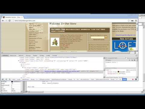Web Scraper VBA Application1 25-Clicking a Button or Image Element
