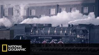 Najdłuższa linia kolejowa! Rosyjska kolej transsyberyjska!  [Potęga Techniki]
