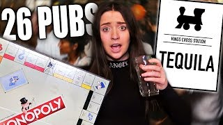 Drinking At Every Pub On The Monopoly Board In One Day