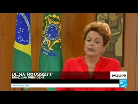 Exclusive interview of Brazilian president Dilma Rousseff on FRANCE 24