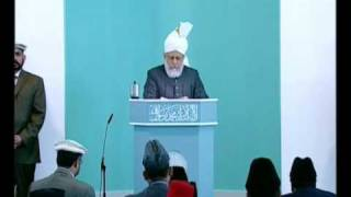 Friday Sermon : 4th June 2010 - Part 1 (Urdu)