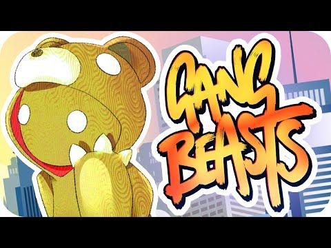 LOCURAS DE RISA!! GANG BEASTS ONLINE | Sara, Exo y Luh