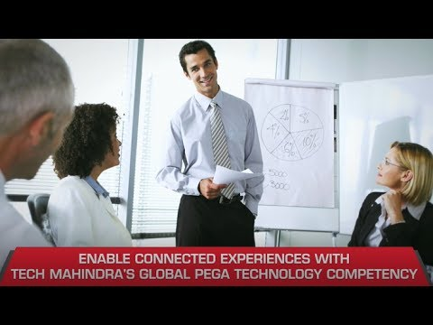 Enable connected experiences with Tech Mahindra's Pega Technology practice