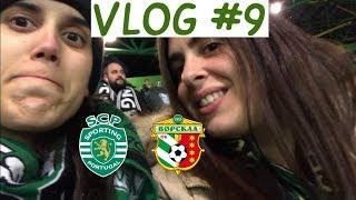 #9 Vlog Sporting vs Vorskla Poltava - Liga Europa