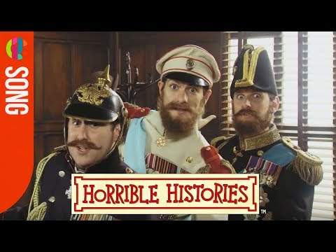 Horrible Histories Song - World War 1 Cousins - CBBC
