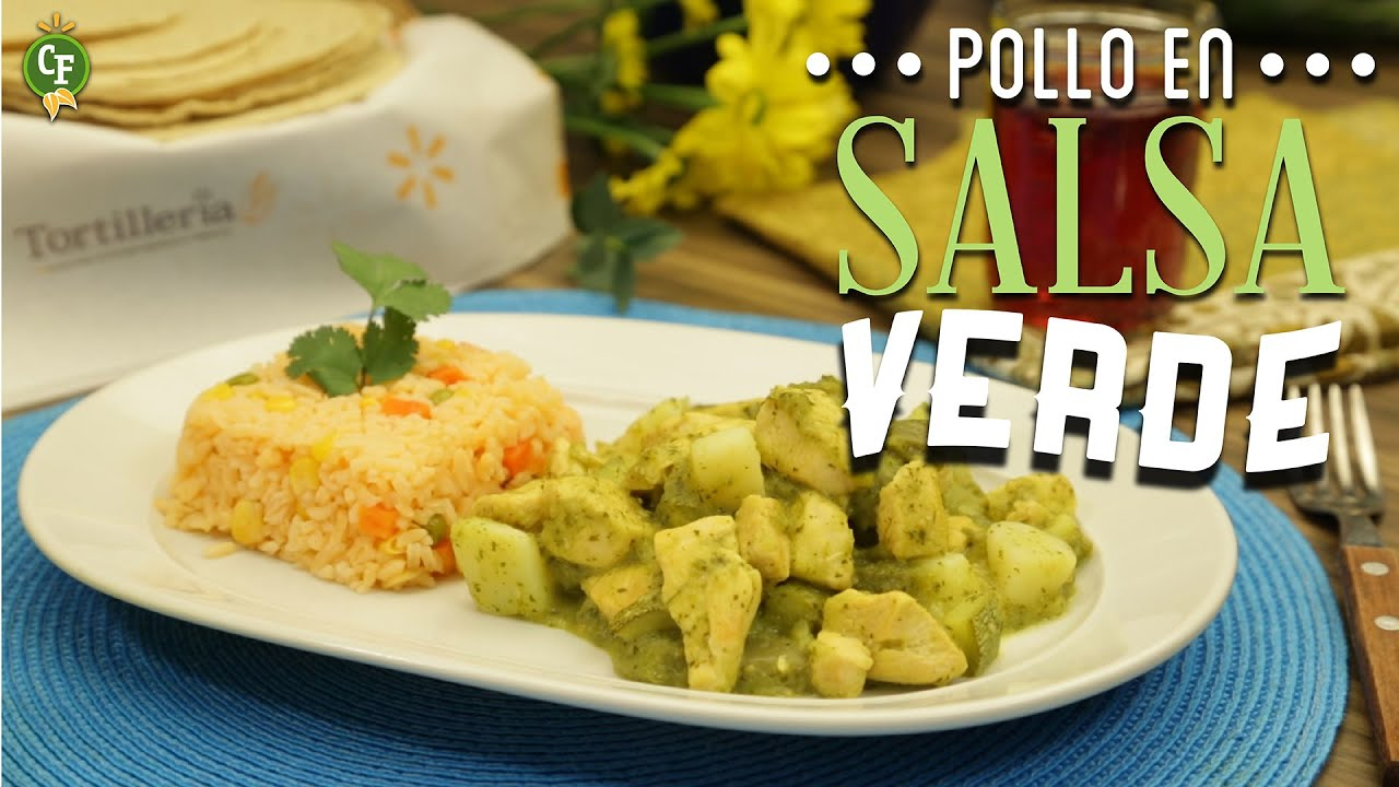 Cómo preparar Pollo en Salsa Verde? - Cocina Fresca - YouTube