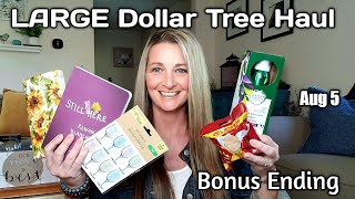 LARGE Dollar Tree Haul ❤ ALL NEW❤ Bonus Ending 💕