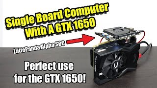 Single Board Computer with GTX 1650! Amazing performance!