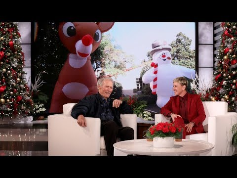 Clint Eastwood on What It's Really Like Being Ellen's Neighbor