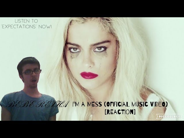 Bebe Rexha - I'm A Mess (Official Music Video) [REACTION] #1