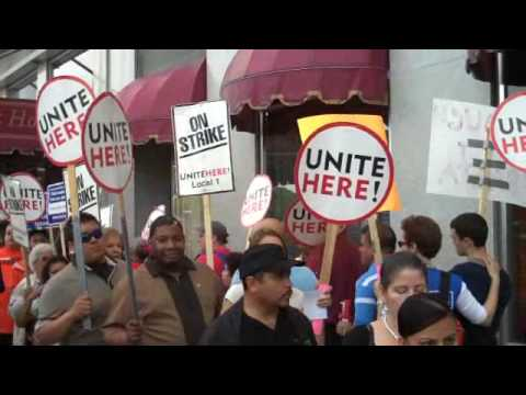 Chicago Congress Hotel Strike Year 6 Still Strong Fighting for Justice