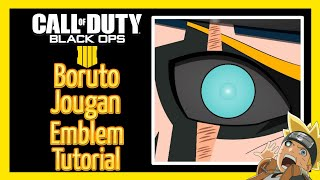 BO4 | Boruto Jougan Eye Anime Emblem Tutorial [Live Commentary] | Black Ops 4 Emblem Tutorial #7
