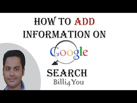 How To Add/Put Your Information On Google Search Hindi/Urdu