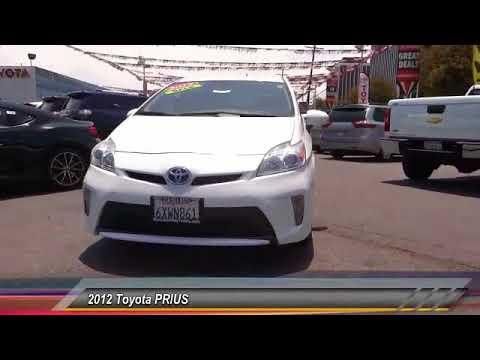 2012 Toyota PRIUS Marina Del Rey, Los Angeles, Santa Monica, Culver City,  Venice, CA T523118