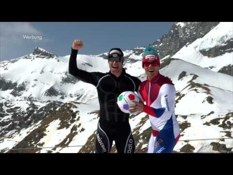Helvetia Versicherungen: TV-Werbung - Dario Cologna und Sandro Viletta spielen Fussball